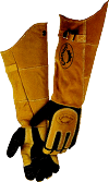 "Caiman 21"" Deerskin Welders Gloves"